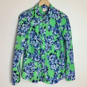 J. Crew Rob Floral The Perfect Shirt